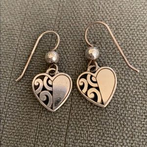 Brighton classic heart shaped earrings